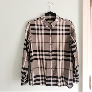 BURBERRY London Button Down Shirt size 8